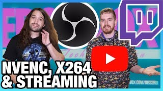 Streaming Misconceptions: Best OBS Settings & NVENC vs. X264, ft. EposVox | LTX