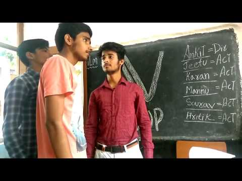 GUJJAR BOY IN SCHOOL -- comedy classes - funny video 2017 -- ft= Mannu naagar - YouTube