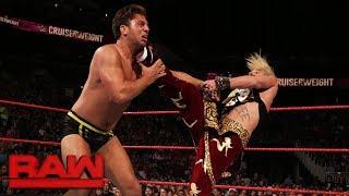 Enzo Amore, Cedric Alexander & Gran Metalik vs. Noam Dar, Tony Nese & Drew Gulak: Raw, Sept. 4, 2017