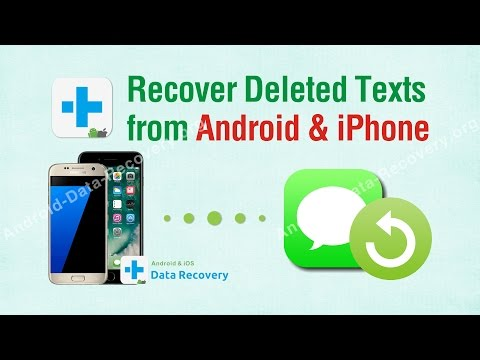 Recover Deleted Texts - How to Recover Deleted Text Messages from iPhone & Android