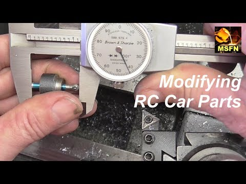 QWIK CLIP - Machining Small RC Car Parts, work holding exercise  - MSFN