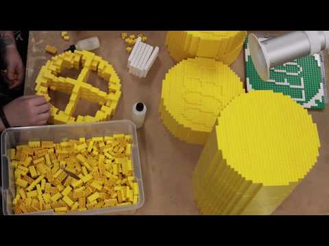 Building Awesome- Giant 2x4 LEGO® brick