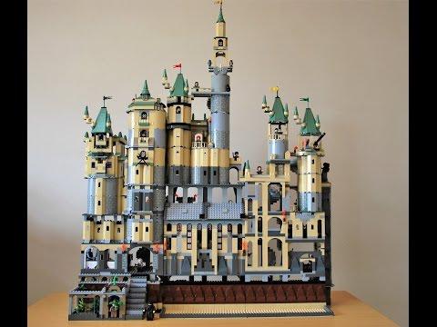Harry Potter Lego - Huge Customized Hogwarts Castle 2