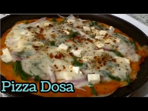 Homemade Pizza sauce and Pizza Dosa