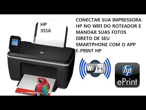 Como conectar Impressora HP sem Fio no roteador e imprimir via e-print