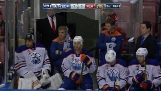 Panthers score, Sekera shaken up in bad couple seconds for Oilers