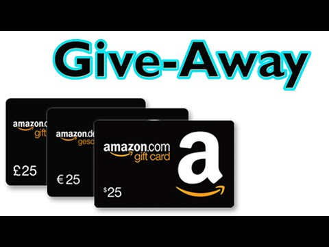 *CLOSED* 50$ Amazon Gift Card International Giveaway