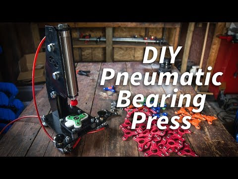 DIY Pneumatic Fidget Spinner Bearing Press - BYOT
