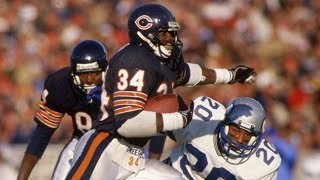 Walter Payton Career Highlight Feature Nfl