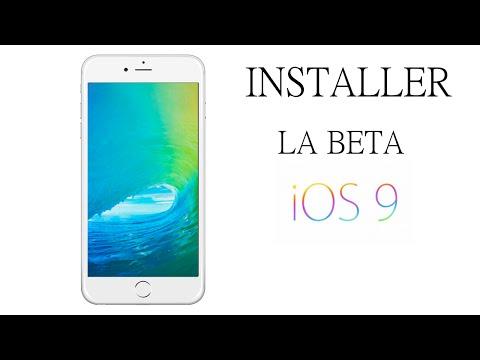 Installer gratuitement IOS 9 beta sans compte développeur ou UDID sur iPhone / iPad / Ipod Touch