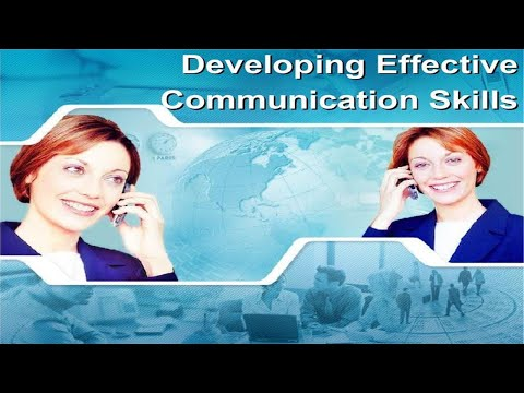 Developing Effective Communication Skills PPT