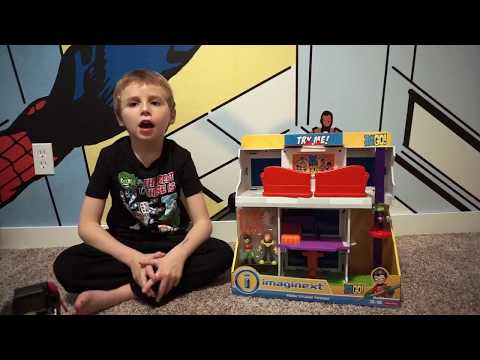 Imaginext Teen Titans Go! Tower unboxing with the Joker Surprise!