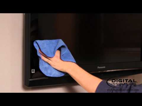 How to Clean an LCD Television or Plasma TV