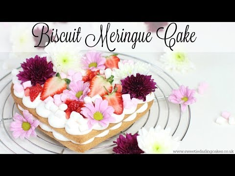 How to make a Biscuit Meringue Cake