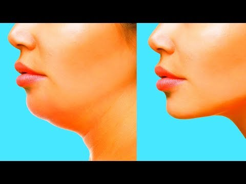 5 BEST FACE EXERCISES | Get Rid of Chubby Cheeks, Lose Facial Fat, Double Chin