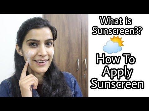 सनस्क्रीन क्या है?? कैसे लगाएं? | How to Apply Sunscreen with Tips & Tricks | Super Style Tips