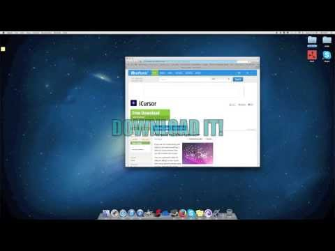 How to Change Your Mouse Cursor (MAC)