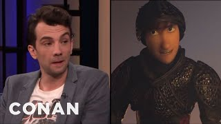 "Jay Baruchel: ""How To Train Your Dragon: The Hidden World"" Is Very Moving - CONAN on TBS"