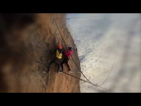 Masterchef India Shipra Khanna Doing Rope Mountain Climbing