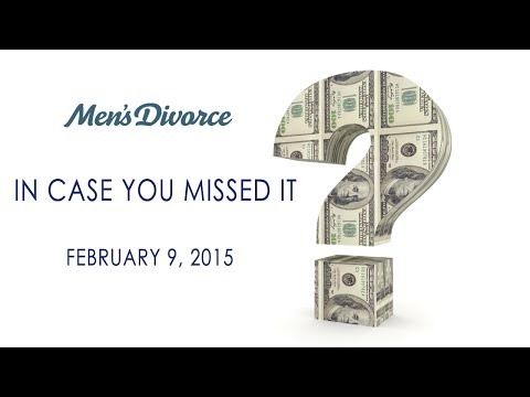 Reducing or Terminating Alimony and Child Support; Taxes and Divorce - ICYMI