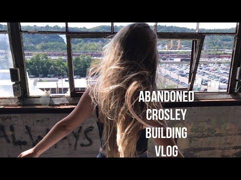 Abandoned Crosley Building Cincinnati, Ohio 2017 Vlog