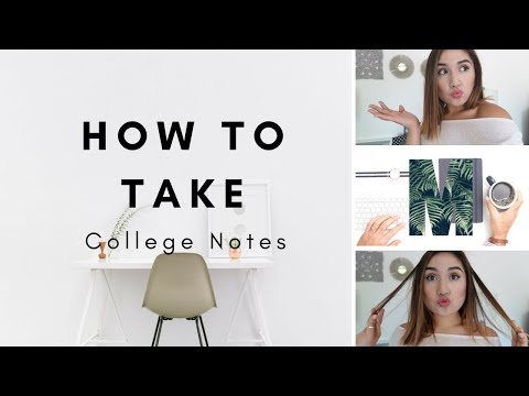How to take College Notes| Must Have Tips