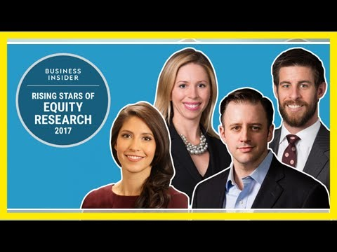 Introducing wall street's rising stars of equity research age 35 and under