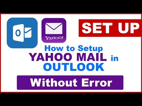How to setup Yahoo Mail in Microsoft Outlook 2010,2013 Without any Error|Setting Yahoo in Outlook