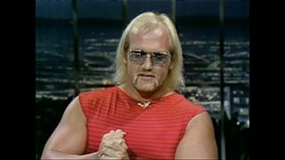 Hulk Hogan on Johnny Carson 1982