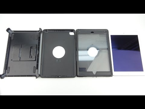 How To Remove The Otterbox Defender Series Case From Apple iPad Air 2