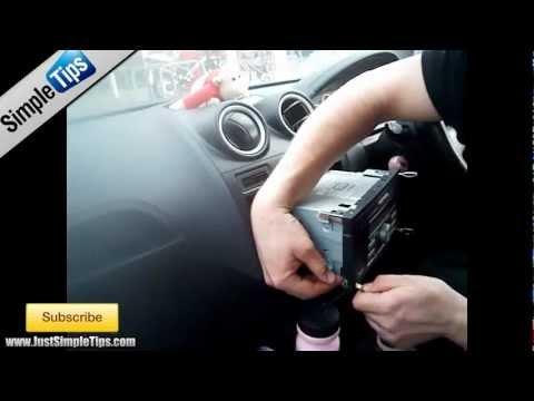 Radio Removal Ford Fiesta (2002-2009) | JustAudioTips