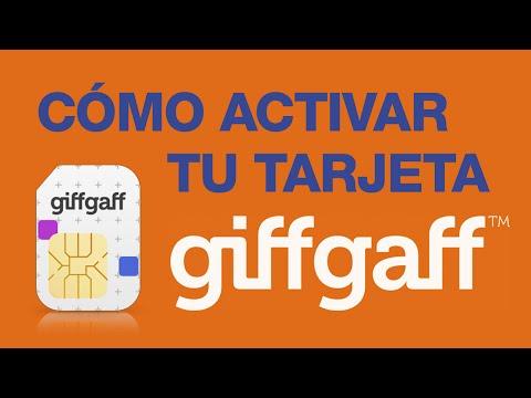 Movil Giffgaff: Cómo Activar tu Tarjeta Giffgaff en 2 Minutos