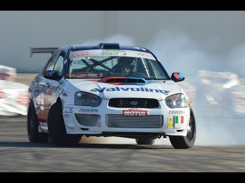 RWD Subaru Impreza WRX STi - Drift & on board