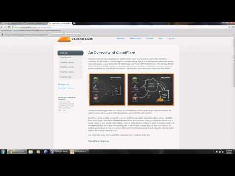 Speed up any website using CloudFlare as a CDN [HD]
