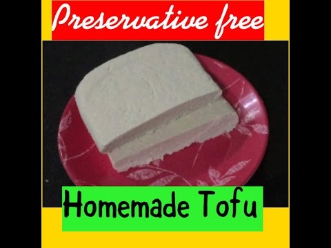 How To Make Soya Tofu At Home Recipe Of Soya Tofu Without Any Preservatives!!Homemade Soy Tofu 