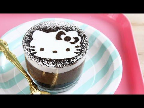 How to Make Hello Kitty No-Bake Cheesecakes!