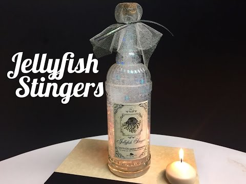 Jellyfish Stingers Potion : DIY Potion Bottle : Halloween Prop ( Harry Potter Inspired )