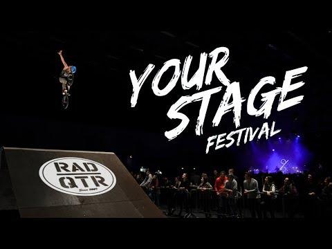 MTB & BMX SHOW at YOUR STAGE Festival 2018 - Freiheitshalle Hof