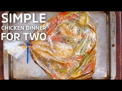 Simple Chicken Dinner For Two