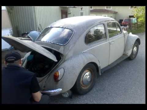 1967 Vw Beetle Restoration Part 1