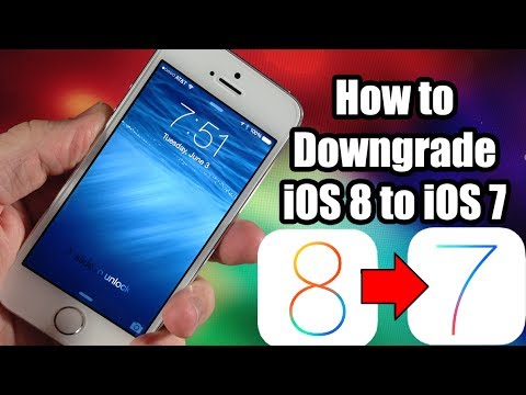 How to Downgrade iOS 8 to iOS 7.1.1 - Tutorial