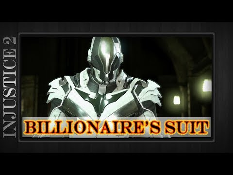 Injustice 2 - Billionaire's Suit - Batman Epic Gear Set