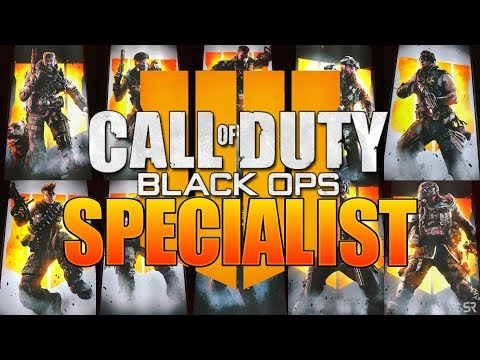 Black Ops 4 All Specialists Abilities in COD BO4 Multiplayer