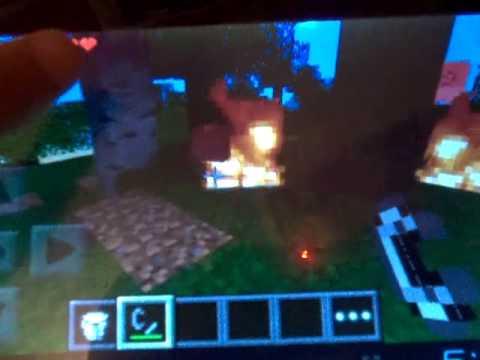 Minecraft PE: 0.7.1 Gameplay