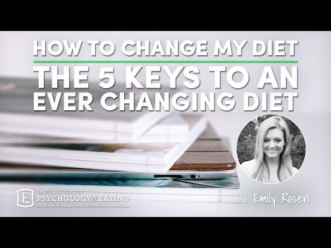 How to Change My Diet: 5 Keys to an Ever Changing Diet with Emily Rosen