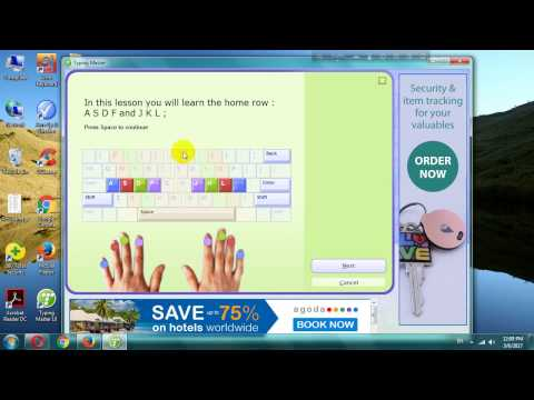 How to use typing master software to increase typing speed