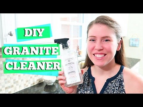 DIY KITCHEN CLEANER | GRANITE COUNTERTOPS