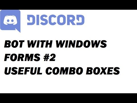 Discord.NET 1.0 with Windows Forms! #2 [1080]