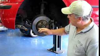 How To Remove A Stripped Out Brake Rotor Locator Bolt