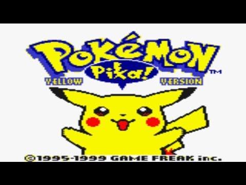 Pokémon Yellow Intro